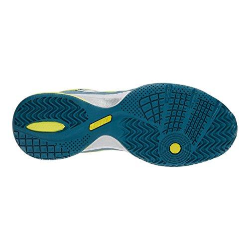 Lotto–Ultra Sphere ALR Hombre Zapatillas de tenis (Azul Oscuro/Verde) azul