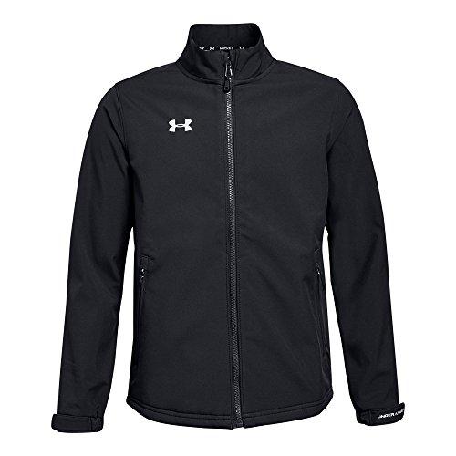 Under Armour Boys Hockey Softshell Jacket, Black, Youth X-Large