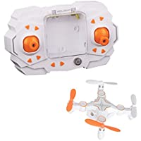 Mini Drone,Dwi Dowellin RC Small Quadcopter Pocket Drone Outdoor Toy 901 Orange