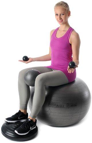 Original PEZZI Bike Ball® Kit 4 Fitness Gymnastik Reha Therapie Bälle Training