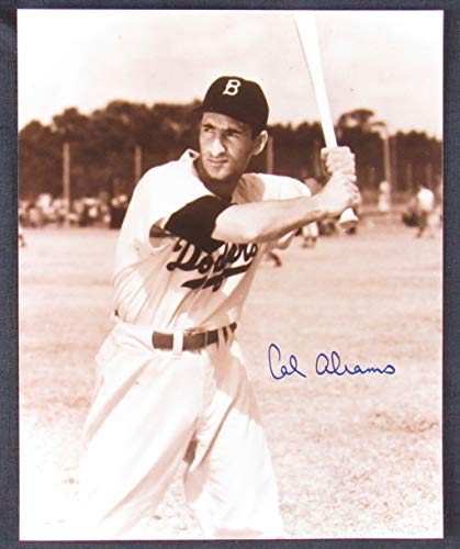 Cal Abrams Signed Auto Autograph 8x10 Photo II from JP's Sports/Rock Solid Promotions, Inc.