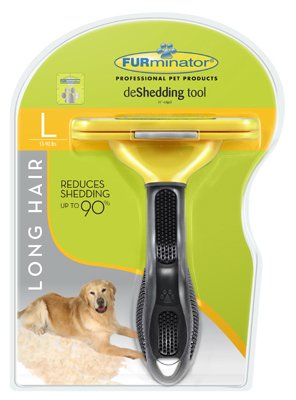 Furminator Spectrum Brands Pet P-92926 Long Hair De-Shedding Tool, Large - Quantity 1