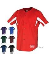 Rawlings Men's Full Button YJI77 Jersey