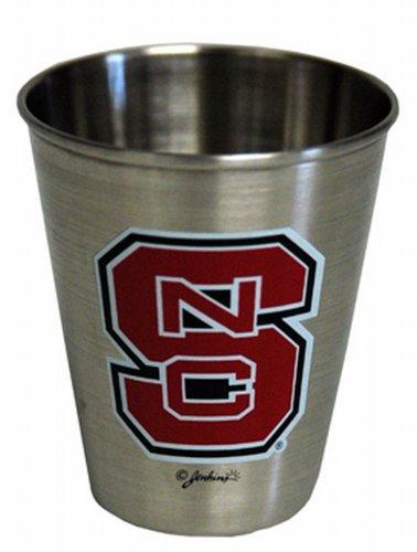 NCAA North Carolina State Wolfpack Shotglass Stainless -