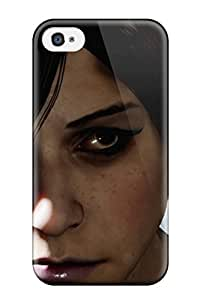 Durable Defender Case For Iphone 4/4s Tpu Cover(infamous: First Light)