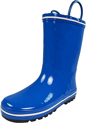 NORTY - Boys Waterproof Rainboot, Blue, White 39830-3MUSLittleKid