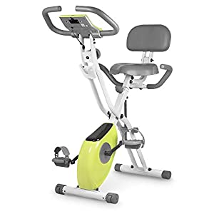 Well-Being-Matters 41-MiREzPEL._SS300_ leikefitness LEIKE X Bike Ultra-Quiet Folding Exercise Bike, Magnetic Upright Bicycle with Heart Rate,LCD Monitor and…