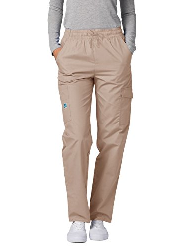 (Adar Universal Natural-Rise Multipocket Cargo Tapered Leg Pants - 506 - Khaki -)