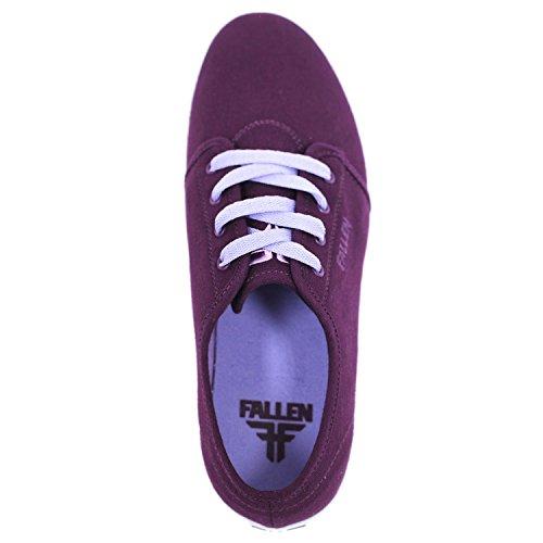 Gevallen Daze Zwarte Pruim / Perry Paarse Mens Skate Schoenen
