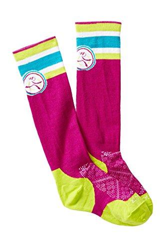SmartWool Run Ultra Light Kneehigh Berry Girl On The Run Socks
