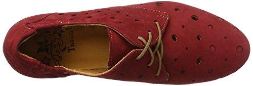 Rojo 72 rosso Para Think kombi Zapatos Derby Cordones Wunda De Mujer nxvSqa0w