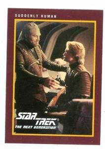 Bub The Zombie (Star Trek The Next Generation card #230 Suddenly Human Endar George Howard aka Bub Zombie in Day of the Dead)