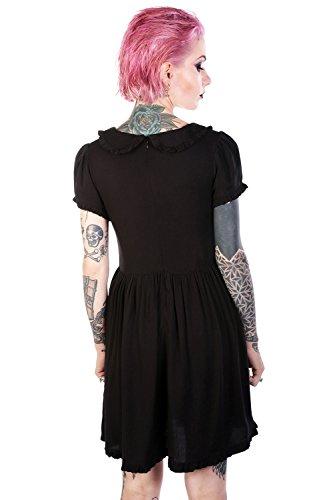 Raine Disturbia Dress Kleid Babydoll Schwarz q8q5xaYwr