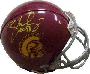 Rey Maualuga Signed Autograph USC Trojans Replica Mini Helmet