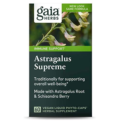 Gaia Herbs Astragalus Supreme LP caps 60 ( Multi-Pack)