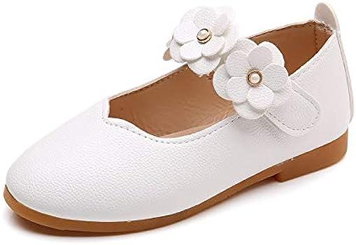 VECDY Zapatos Bebe Niña, Moda Suave Sandalias 2019 Niñas Bebés Sólido Flor Estudiante Suave Danza Princesa Zapatos Flores Boca Baja Velcro Guisantes Zapatos Zapatos De Baile (Blanco,21): Amazon.es: Ropa y accesorios