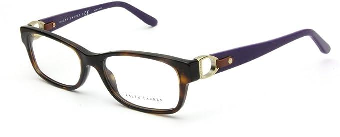 Amazon.com: Ralph Lauren RL6106Q Eyeglass Frames 5003-51 - Dark ...