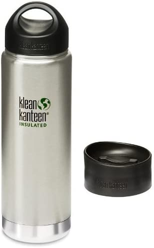 Klean Kanteen Wide Mouth Stainless Steel Water Bottle