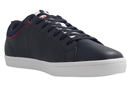 Lacoste - Zapatillas de skateboarding de Piel Lisa para hombre azul azul