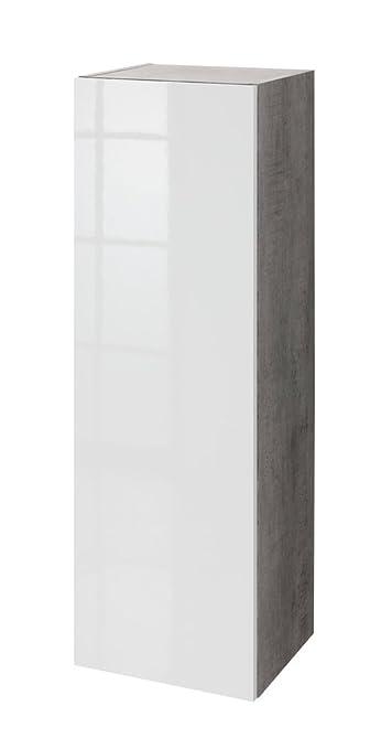 Composad Pensile colonna soggiorno color cemento con anta ...