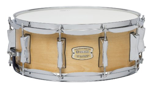 (Yamaha Stage Custom Birch 14x5.5 Snare Drum, Natural Wood)