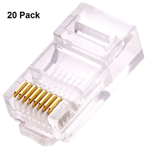 Awesome Amazon Com Ethernet Rj45 Connector Ethernet Modular Crimp Wiring 101 Ouplipimpapsstreekradiomeanderfmnl