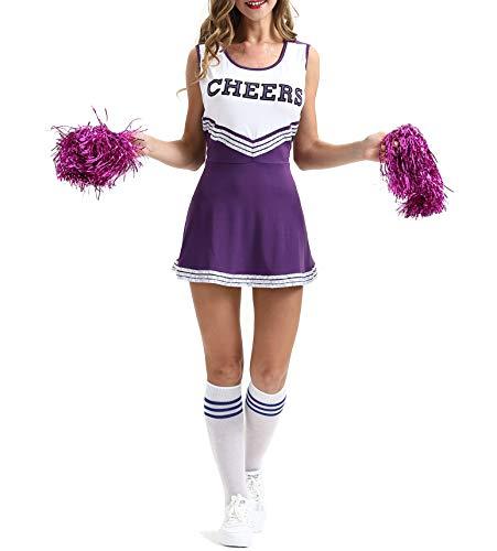 Women's High School Musical Cheer Girl Uniform Costume