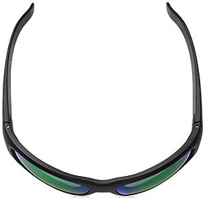 Arnette Men's Hot Shot Polarized Iridium Rectangular Sunglasses, Matte Black, 60 mm