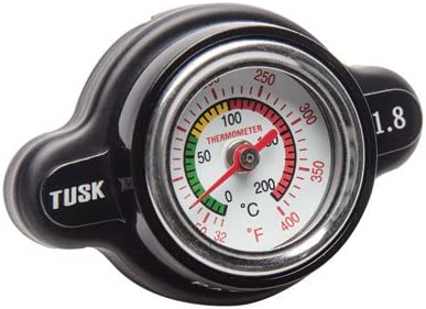 High Pressure Radiator Cap with Temperature Gauge 1.8 Bar for Kawasaki KFX 400 2003-2006