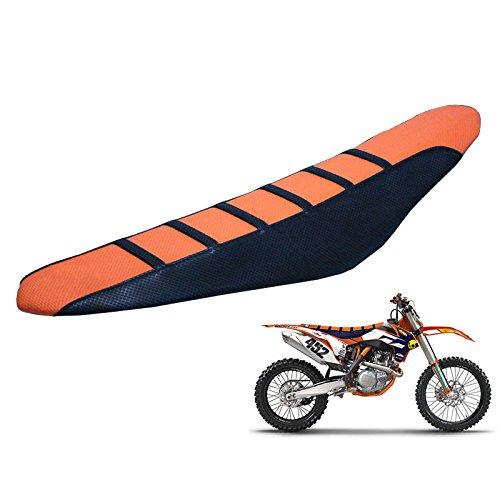 Universal Gripper Rubber Soft Motorcycle Seat Cover - EXC250 SX250 SXF250 EXC450 SX350 SXF450 honda Yamaha Kawasaki Suzuki Husqvarna Pit Dirt Bikes ()