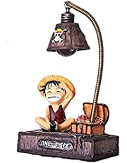 SKEIDO Anime one piece Luffy LED Night Light Table Lamp Figure Toys Home Deocr