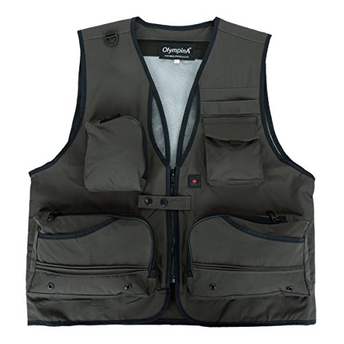 with Quick Men's MADAM Vest Dry Pocket Fishing Green LUSI Mesh Back fw6cq7xp