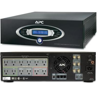 (American Power Conversion-APC AV 1KVA Pwr Conditioner Black )