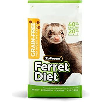 ZUPREEM 230012 Ferret Diet Food, 4-Pound