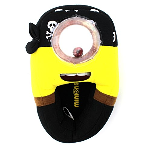 Despicable Me Minions Movie Kids Slippers (11/12 M US Little Kid, Pirate Minion) (Minion Kids)