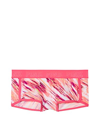 Victoria's Secret PINK logo Hipster panty Medium Warm Abstract print (B3S -