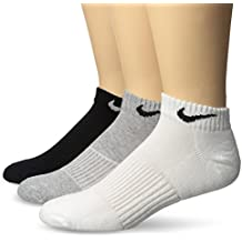 Nike Cotton Cushion Low Cut Ankle Socks White (3 Pack)