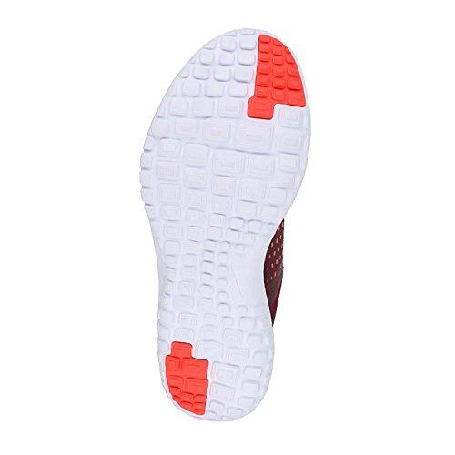 Nike Mens Fs Lite 2 Running-schoenen Team Rood / Antraciet / Helder Karmozijnrood / Wit