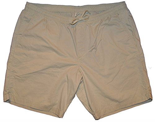 GAP Mens Khaki Lived-in Drawstring Pull On Shorts Large (Gap Drawstring)