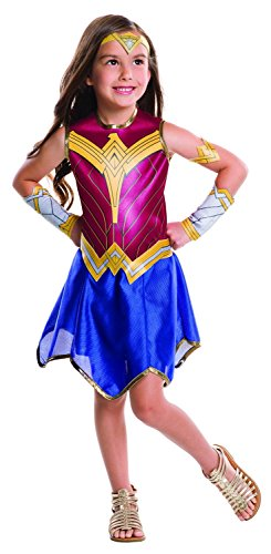 [Rubie's Costume Batman vs Superman: Dawn of Justice Wonder Woman Value Costume, Small] (Womens Boxing Costumes)
