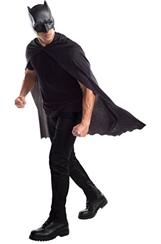 Men's Dawn of Justice Batman Cape With Mask