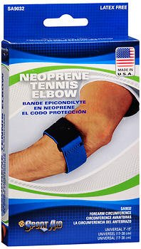 Sport Aid Neoprene Tennis Elbow Band 1 Each (Pack of 2) by SportAid