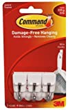 3M Command Small Wire Hooks, 12-Hooks