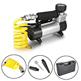 Dromedary Portable Electric Auto Car Tire Inflator Pump Compressor Air Inflator Pump 12v
