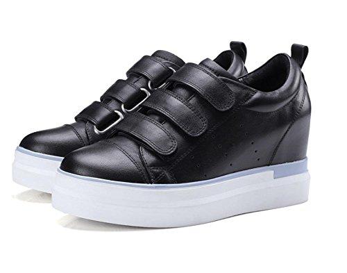 los 5 con ocasionales de 7 UK4 5 EU37 zapatos US6 zapatos los zapatos Spring elevadores pendiente Ms CN37 5 7RIW1Hqpx