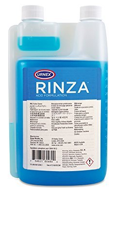 Urnex Rinza Acid Formula Milk Frother Cleaner, 33.6-Ounce (Rinza Milk Frother Cleaner)