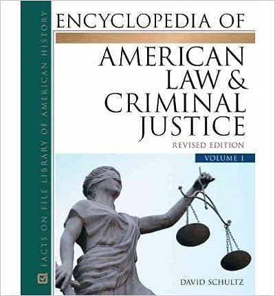 [(Encyclopedia of American Law & Criminal Justice Set )] [Author: David Schultz] [May-2012]