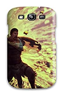 Hot 2655331K54774098 Fashion Protective Gods Ares Case Cover For Galaxy S3
