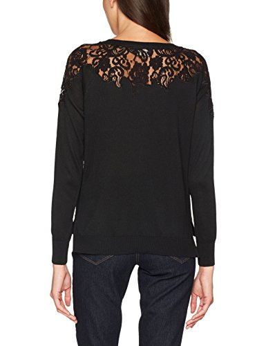 Femme Pull Noir S w Lace Onlmaia Pullover L Detail Dtm Only KNT Lace Black gqYH088