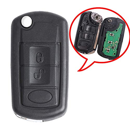 Beefunny 315MHz ID46 Chip P/N: NT8-15K6014CFFTXA Flip 3 Button Remote Car Key Fob for Land Rover LR3 Range Rover Sport (1)